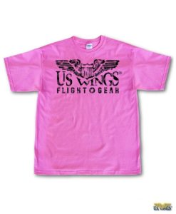 US Wings Vintage-style Flight Gear T-Shirt