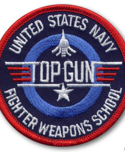 US Navy Fighter Weapons School Patch (3)