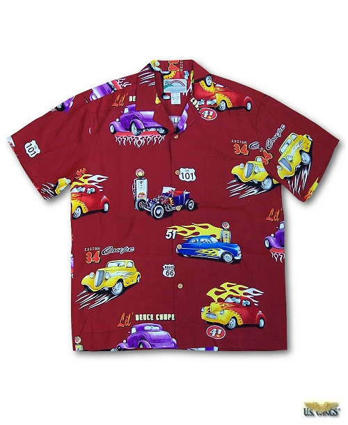 Hot Rod Aloha Shirt