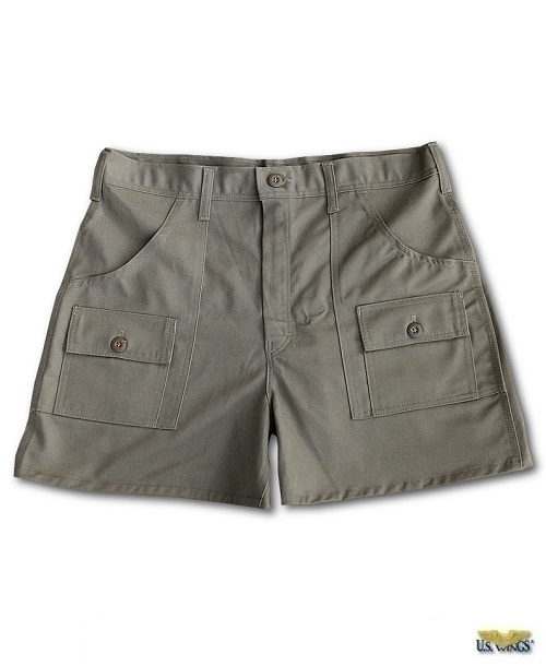 USW Adventure Gear™ Khaki Cargo Shorts