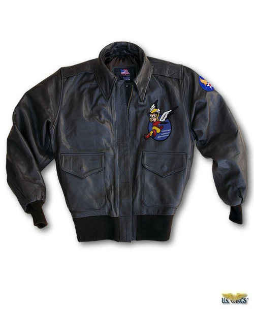Women's WASP A-2 Jacket With Patches