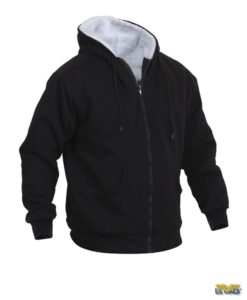 Sherpa Lined Full Zip Sweatshirt